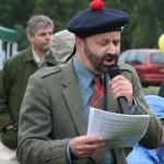 Seumas Grant opens the festival